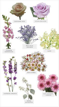 Perfectly purple wedding bouquet recipe. Floral Recipe: Cedarwood ---> http://www.weddingchicks.com/2014/05/19/perfectly-purple-bouquet-recipe/