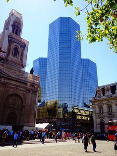 plaza de armas, santiago, chile.