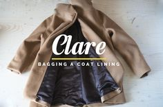 "How to line a coat or jacket entirely by machine using the ""bagging a lining"" method."