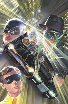 BATMAN '66 MEETS THE GREEN HORNET #5 Written by KEVIN SMITH and RALPH GARMAN Art by TY TEMPLETON Cover by ALEX ROSS On sale OCTOBER 1 • 32 pg, FC, 5 of 6, $2.99 US RATED E • DIGITAL FIRST The Dynamic Duo are prisoners of General Gumm and trapped beneath a giant pasta stamp, about to be turned into Bat-spaghetti.