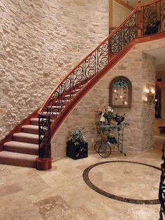Staircase French Style Design, Pictures, Remodel, Decor and Ideas