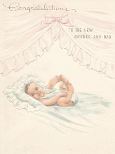 114 best baby images on pinterest baby cards vintage cards and