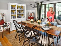 Get gorgeous dining room inspiration from these amazing makeovers on WomansDay.com!