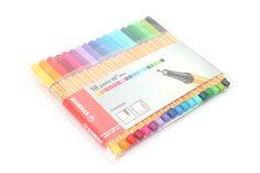 Stabilo Point 88 Mini Fineliner Marker Pen - 0.4 mm - 18 Color Set - Wallet