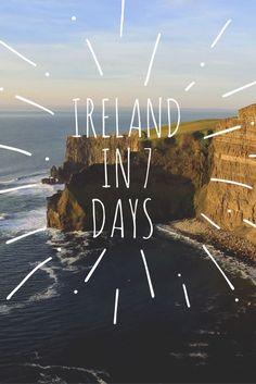 Ireland Travel Itinerary   Ireland in 7 Days - FashionEdible