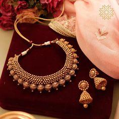 Jewelry Design Earrings, Gold Earrings Designs, Necklace Designs, Ring Designs, Gold Bangles Design, Gold Jewellery Design, Gold Jewelry, Designer Jewelry, Jewelry Sets