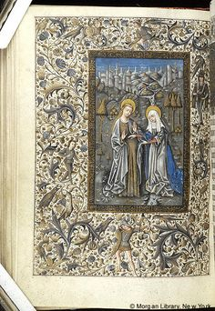 Book of Hours, MS M.854 fol. 62v - Images from Medieval and Renaissance Manuscripts - The Morgan Library & Museum