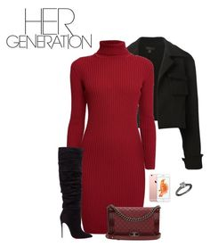"""Her Generation"" by owl00 ❤ liked on Polyvore featuring E L L E R Y, Rumour London, Christian Louboutin, Chanel, Cartier, women's clothing, women, female, woman and misses"