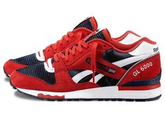 mens classic reeboks red and navy j98338