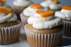 Earl Grey Cupcakes with Lemon Buttercream Frosting...hmmmm