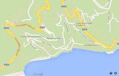Positano Italy map, Karte Positano, mappa Positano, mapa Positano