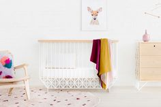 Shop Contemporary Kids Furniture Online or Visit Our Showrooms To Get Inspired With The Latest Kids Furniture From Ubabub - Ubabub Mod Cot Modern Nursery Furniture, Nursery Furniture Collections, Baby Furniture, Furniture Design, Baby Cot Mattress, Cot Bedding, Budget Nursery, Minimalist Nursery, Convertible Crib