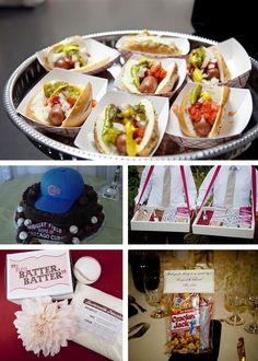 Baseball Theme Birthday Party Ideas