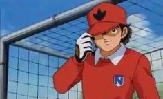 Genzo Captain Tsubasa, Classic Cartoons, Ronald Mcdonald, Soccer, Goalkeeper, Mime Artist, Guys, Chemises, Football Soccer