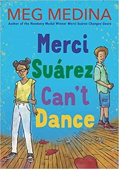 Seventh grade is going to be a real trial for Merci Suárez. For science she's got no-nonsense Mr. Ellis, who expects her to be a smart as her brother, Roli. She's been assigned to co-manage the tiny school store with Wilson Bellevue, a boy she barely knows, but whom she might actually like. And she's tangling again with classmate Edna Santos, who is bossier and more obnoxious than ever now that she is in charge of the annual Heart Ball. One thing is for sure, though: Merci Suárez can't dance...
