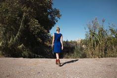 Robe Tavi en jean de la marque Poldine http://poldine-paris.fr/