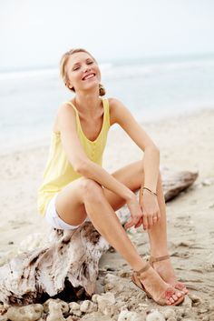 Henly tank and shorts   Hanna Andersson   #womensfashion