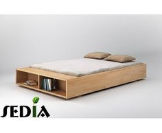 Łóżko z półką na książki Iryd