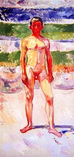 bofransson: Youth Edvard Munch - 1908