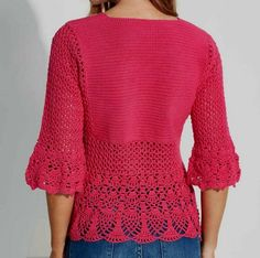 CROCHET BLOUSE — Crochet by Yana