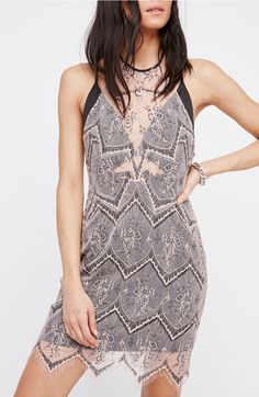 Main Image - Free People Nothing Like This Lace Minidress