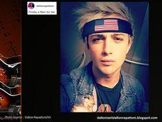 DALTON RAPATTONI... Beautiful Heart & Soul, Beautiful Music !: Dalton Rapattoni On Instagram ~ August 05, 2016