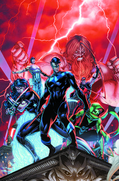 Titans cover by Brett Booth. DC Comics Rebirth: Everything You Need To Know About It And The Comics Involved Marvel Dc Comics, Hq Marvel, Dc Comics Art, Dc Rebirth, Titans Rebirth, Nightwing, Batgirl, Comic Book Covers, Comic Books Art