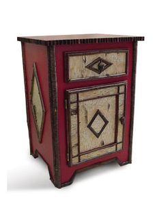 Rustic Twig Furniture, Saranc Nightstand