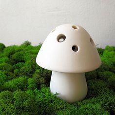 mushroom incense holder