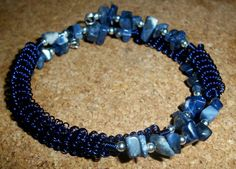Lapis Coils Free Shipping by moonknightjewels on Etsy, $24.00