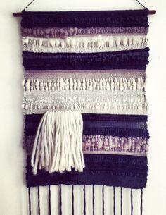 Weaving by Barbara Rourke #fiberart