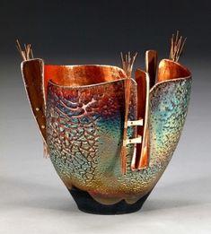 Marc Jenesel - beautiful copper raku! by kimbery