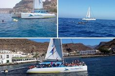 Boat Excursions in Gran Canaria – Catamaran trip on the blue highway! Amazing Adventures, Getting Out, Water Sports, Safari, Ocean, Boat, Tours, Island, Park