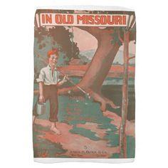 In Old Missouri Towel