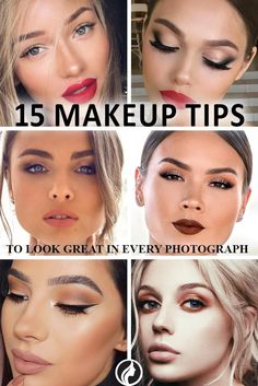 Makeup Tips to Look Great in Every Photograph ★ See more: http://glaminati.com/makeup-tips-look-great-photos/