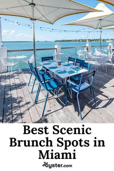 While many travelers come to Miami for the sandy, palm tree–lined beaches and warm, salty air, they stay for the food and drink. To get the best of both, we recommend dining at one of the city's scenic hotel restaurants for weekend brunch. Kick back and enjoy cool cocktails and tasty bites. These brunch spots know how to do Sunday Funday right!