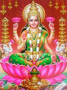 Goddess Lakshmi : Goddess of Wealth