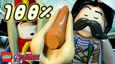 LEGO Marvel's Avengers - 100% Guida a Livello Completo - Disastro Sull' ...