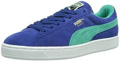 Puma Suede Classic Wn's, Damen Sneakers, Blau (limoges-pool green 17), 40.5 EU (7 Damen UK) - http://on-line-kaufen.de/puma/40-5-eu-7-damen-uk-puma-suede-classic-damen-sneakers