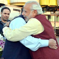 Indian prime minister Modi makes suprise visit to Pakistan