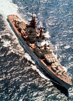 Soviet missile cruiser Project 58 (Kynda) class Admiral Golovko,