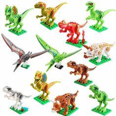 Promo Offer Oenux New Jurassic Dinosaur Figures Building Block T-Rex Indomirus Pterosauria Triceratop Dinosaurs Animal World Brick Toy Dinosaur Facts, Dinosaur Puzzles, Dinosaur Toys, Preschool Dinosaur, Largest Dinosaur, Toddler Toys, Kids Toys, Christmas Birthday Party, Dinosaurs