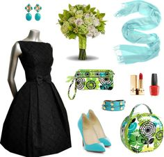 Style this bag: Bridesmaids (Vera Bradley Lime's Up)