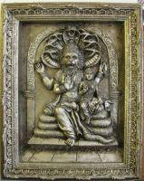 LAXMI NARASINGHA -THE HALF-MAN HALF LION HINDU AVATAR -Created for the ISKCON  Temple in London.