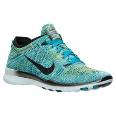 Women's Nike Free 5.0 TR Flyknit Training Shoes - 718785 402 | Finish Line