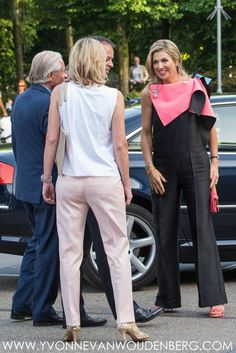 3 June 2017 - Queen Maxima opens Holland Festival 2017 in Amsterdam - jumpsuit by Roksanda Ilincic