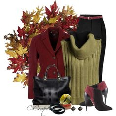 """Fall is here"" by ccroquer on Polyvore"