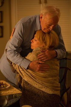 """Elsa (Shirley MacLaine) to Fred (Christopher Plummer): """"You gave me the greatest gift...You asked for my help, Fred, and asking for help is showing your weaknesses and your helplessness and standing naked in front of others. You were naked in front of me."""" -- from Elsa & Fred (2014) directed by Michael Radford"""