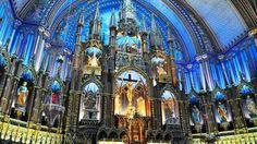 Notre Dame Bascillica, Montreal, Canada