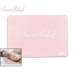Chillow Sweet Relief Memory Foam Comfort Device - Relieve Night Sweats, Hot Flashes, High Fever and More! $14.99